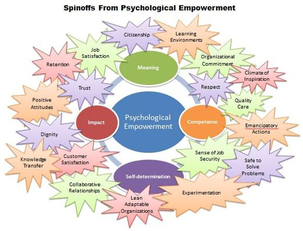 kanter s organizational empowerment theory Towards a comprehensive theory of nurse/patient empowerment: applying kanter's empowerment theory to patient care article in journal of nursing management january 2010 structural empowerment and organizational citizenship.
